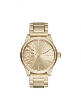 Mens Rasp Gold Watch DZ1761