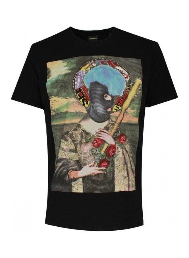 DIESEL Mens T Vivis T Shirt 900