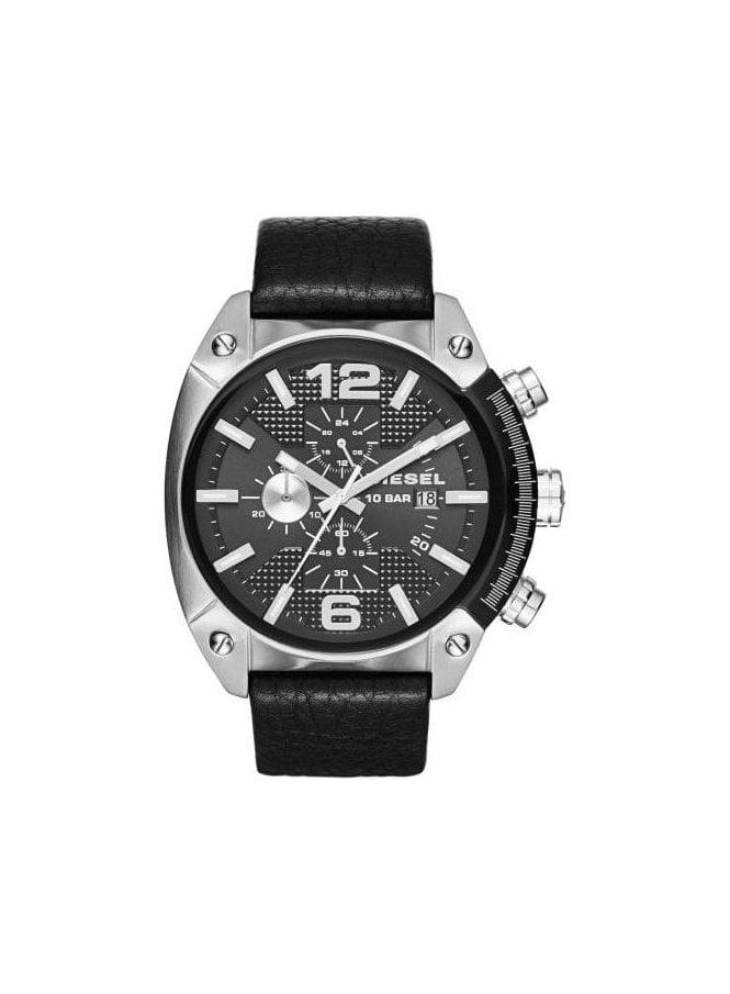 DIESEL Overflow Advanced Chronograph Black Watch
