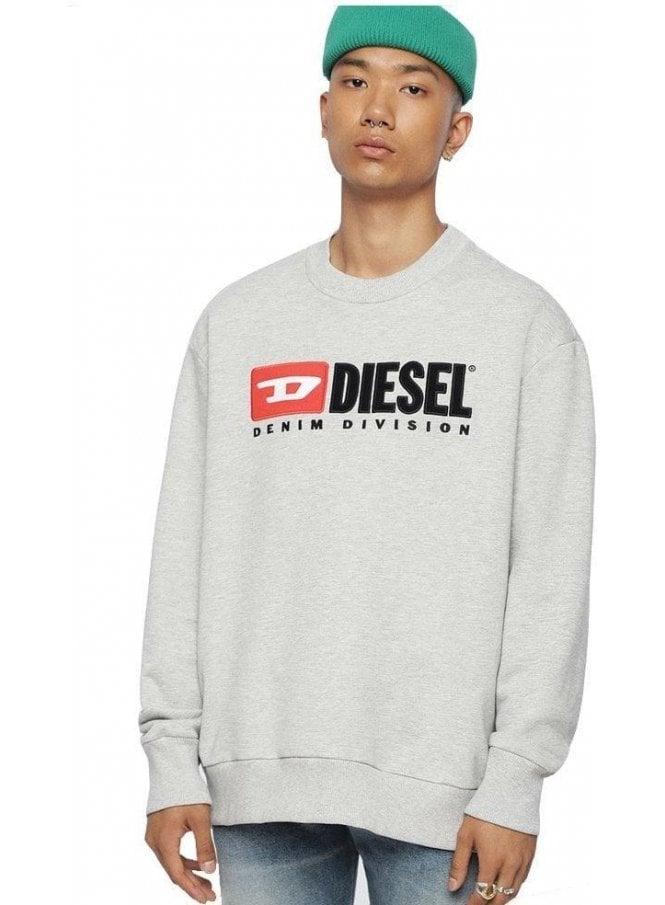 DIESEL S-Crew Division Grey Melange