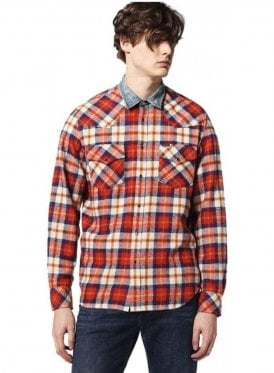 S-east-ld Check 2 Pocket Detail Shirt 41u