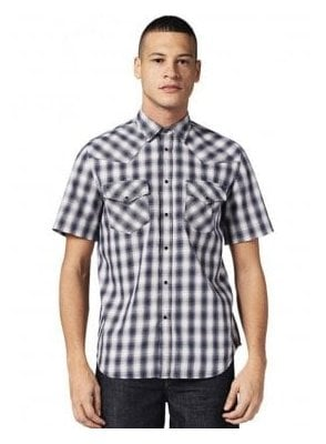 S-east Short Shirt Check 8at
