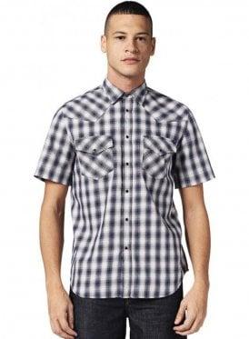 S-east Short Shirt Check 8at