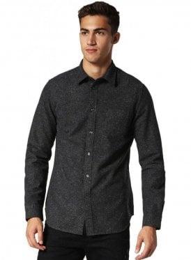 Diesel S-gru Long Sleeve Speckled Shirt 900