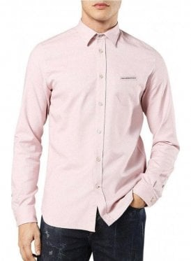 Diesel S-harras L/s Shirt Pastel Pink