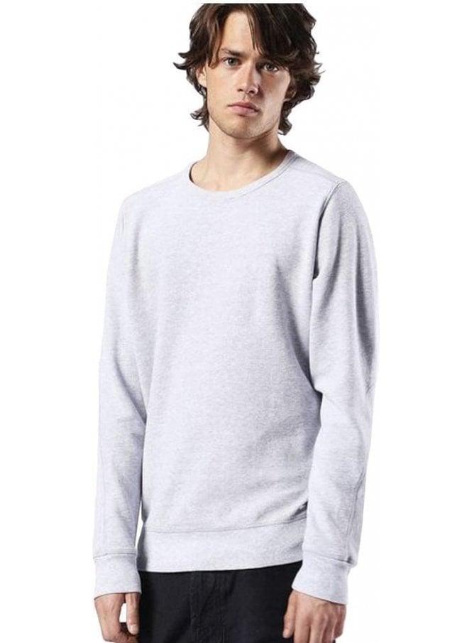 DIESEL S-willard Crew Neck Sweater Jumper Grey