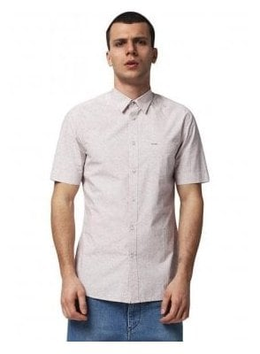 S-wop Paisley Design Print S/S Shirt 32w