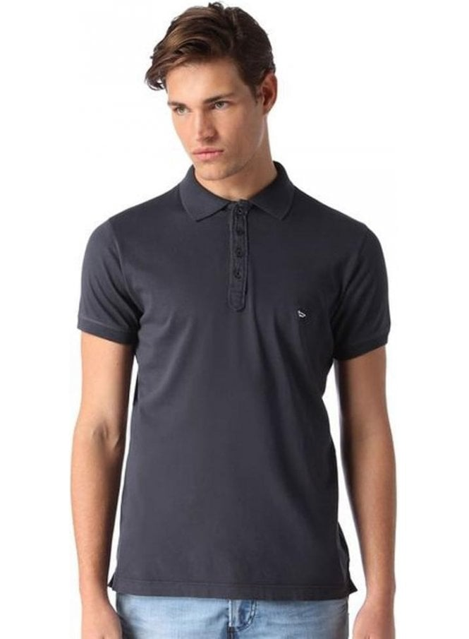 DIESEL T-alex Button Detail Polo 81e