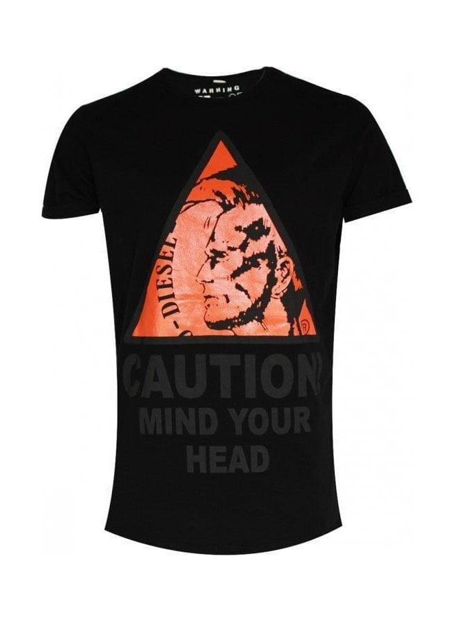 DIESEL T-caution T-shirt 900