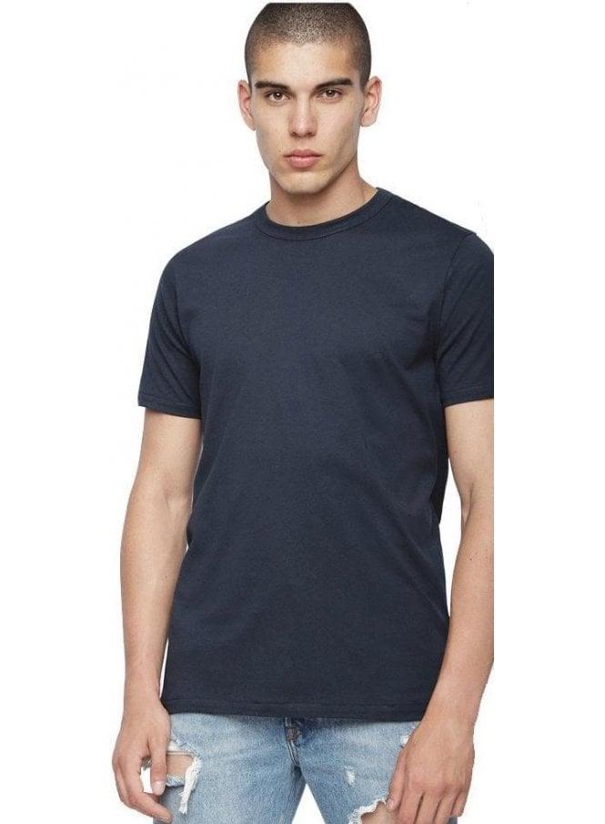 DIESEL T-Diamantik T Shirt Night Blue