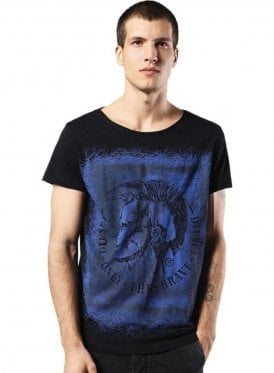T-diego-dc-eb Mohican Head Design T-Shirt Printed S 900