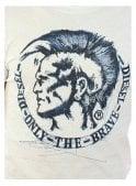 DIESEL T-diego-fr Mohican Branded Logo Tshirt 100