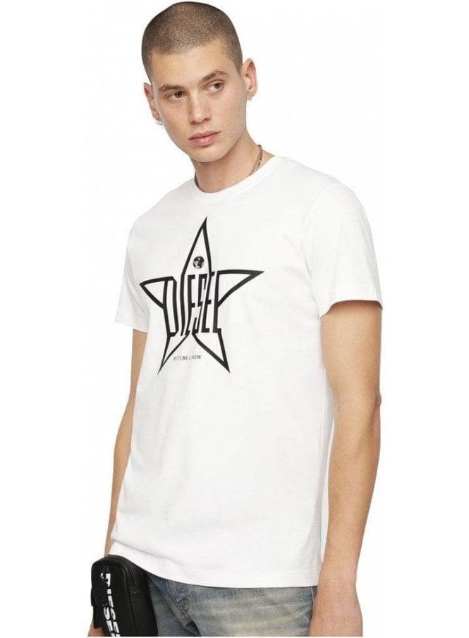 DIESEL T-Diego YH T-Shirt - White