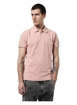 T Heal Polo T Shirt Pink 32w
