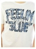 DIESEL T-joe-aa Feeling Blue Logo Tshirt 100