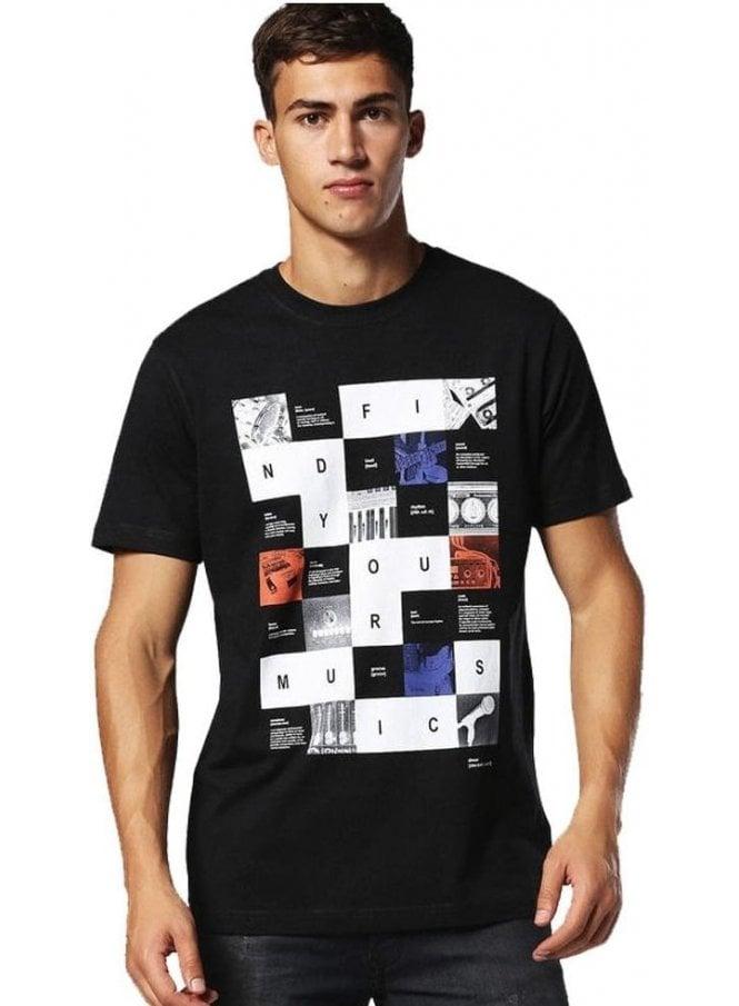 DIESEL T-joe-rx Crew Neck Tshirt 900