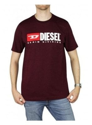 T Just Division T-Shirt Plum