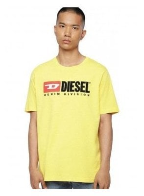 T Just Division Tee Shirt 23d Yellow