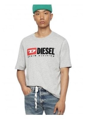 T Just Division Tee Shirt 912 Grey Melange