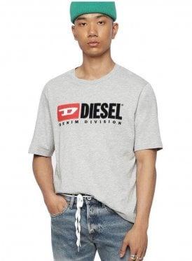 T Just Division Tee Shirt 912 Grey Melange