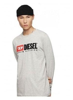 T-Just LS Division T-Shirt - Light Grey