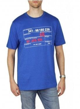 T Just W2 Tee Shirt Blue