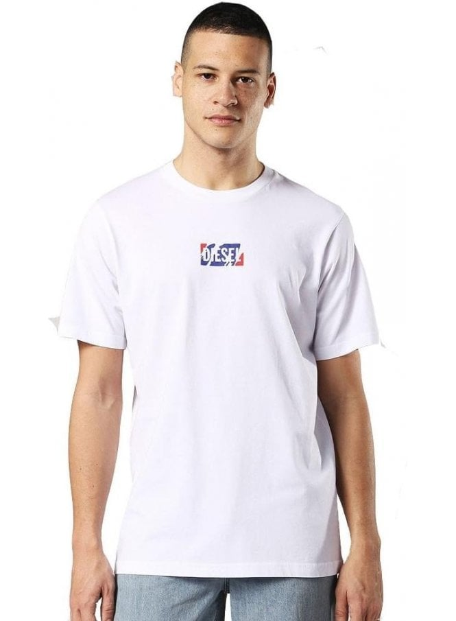 DIESEL T-just-zc Tshirt White