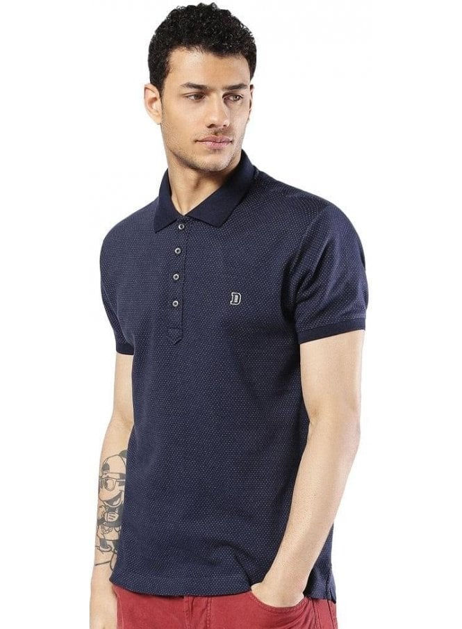 DIESEL T-kalar-dots Polo Tshirt 81e