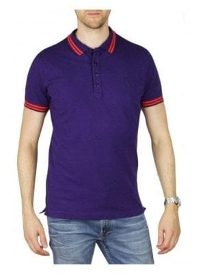 T Randy Polo T-Shirt Purple