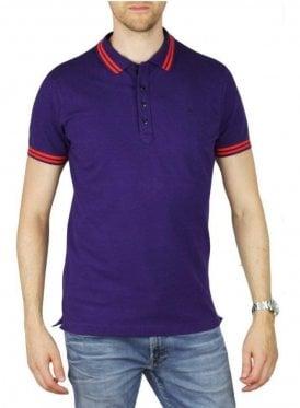 T Randy Polo T-Shirt Purple