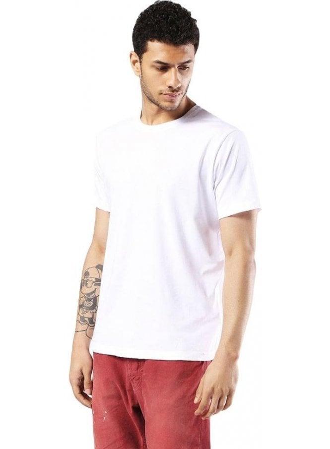 DIESEL T-rivers  Crew Neck Tshirt White