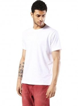 T-rivers  Crew Neck Tshirt White