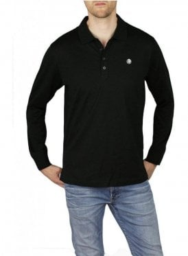 T-Weet Long Sleeve Polo Black