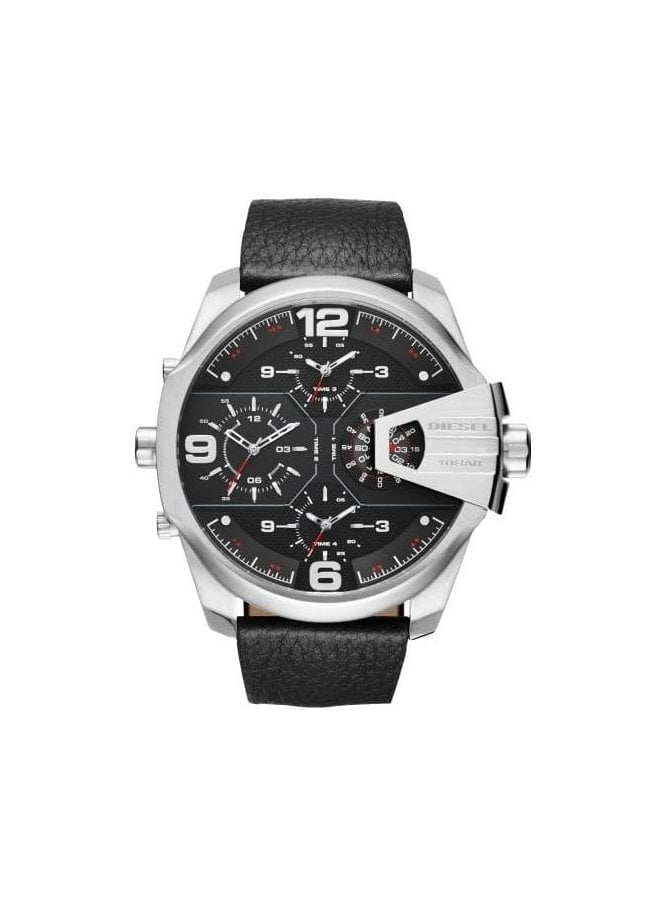 DIESEL Uber Chief Analogue Display Quartz Chronograph Black Watch