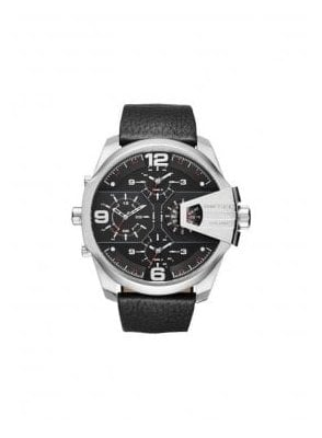 Uber Chief Analogue Display Quartz Chronograph Black Watch