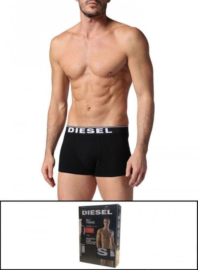 DIESEL UMBX-DAMIENTHREEPACK Boxer -Black