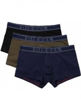 Umbx-shawnthreepack Boxer Shorts Navy/khaki/Black