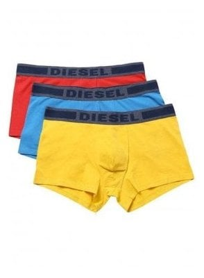 Umbx-Shawnthreepack Boxer Shorts Yellow/Blue/Red