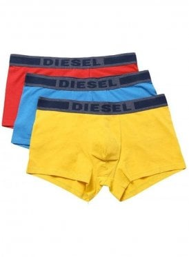 Umbx-Shawnthreepack Boxer Shorts Yellow/Blue/Red