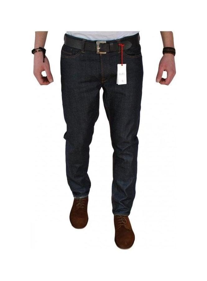 DUEL DENIM Stretch Skinny Jeans Raw Selvedge