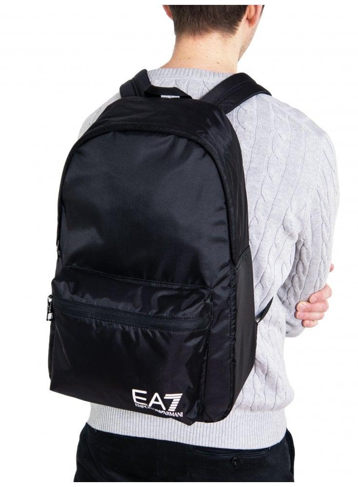 Train Prime Backpack - Black - Designer Clothing - Ghia Menswear e143c89a0fc2a