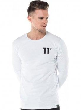 Core Long Sleeve Tee Shirt White