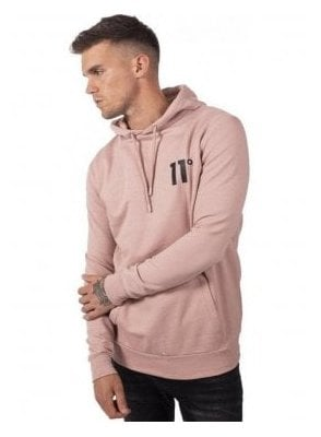 Core Pullover Hoodie Misty Rose