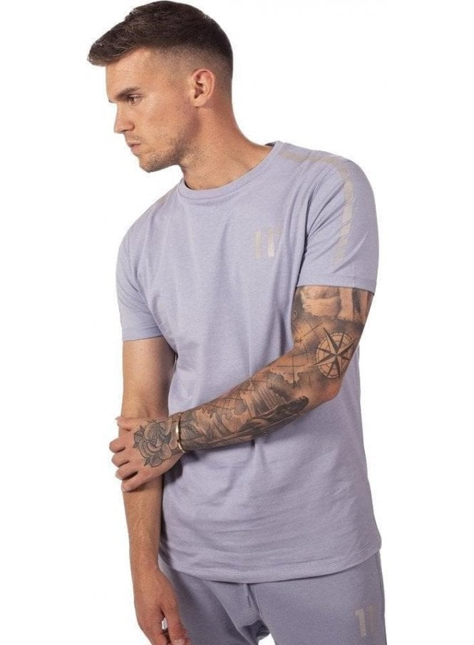 ELEVEN DEGREES Reflective T-Shirt Iris