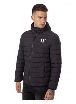 Space Puffa Jacket Black