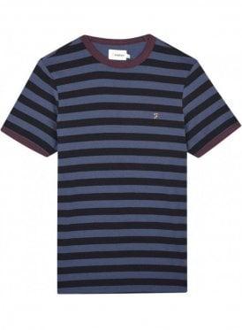 Belgrove Stripe Short Sleeve T-Shirt Bobby Blue