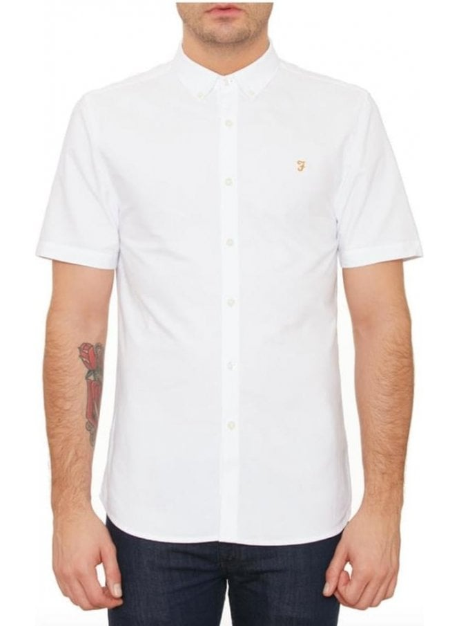 FARAH VINTAGE Brewer Short Sleeve Shirt 104