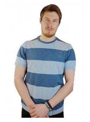 Burton S/s Tshirt Dusky Blue Marl