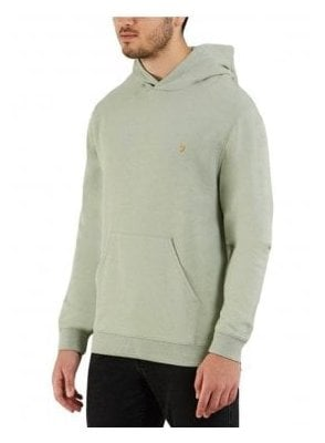 Clerkenwell Garment Washed Hoodie Green Balsam