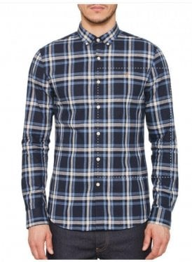 Fal Long Sleeved Check Shirt Yale